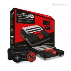 NES / SNES  RETRON 2 black + convertisseur de tension