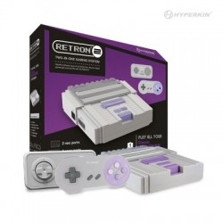NES/SNES RETRON 2 grey + convertisseur de tension
