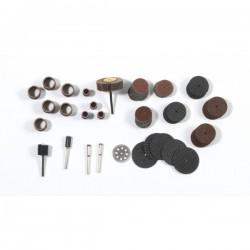 Accessoires ponçage et ébarbage pour outil-électrique multi-usage RIBITECH