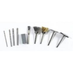 Accessoires brossage et perçage pour outil électrique multi-usage RIBITECH