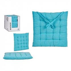 Coussin de chaise Bleu (40...