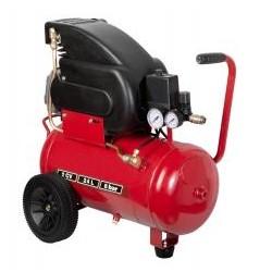 RIBETCH Compresseur électrique 2CV à huile, cuve 24l Par 18 pièces