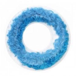 Bouée Feathers Bleu (ø 105 cm)