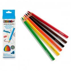 Crayons de couleur (6 pcs)