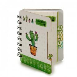 Carnet Cactus (12 x 1 x 9,2...