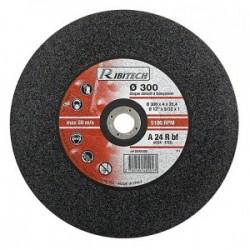 Disques abrasifs Diamètre 300 mm plat  300X2,8X25,4