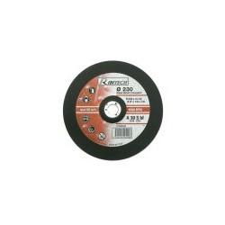 Disques abrasifs à tronçonner Acier Diamètre 230mm