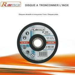 Disques abrasifs à tronçonner Inox Diamètre 125 mm