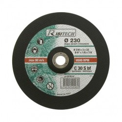 Disques abrasifs à tronçonner Matériaux Diamètre 230 mm