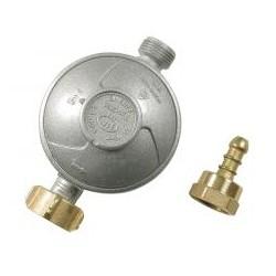 RIBITECH Détendeur gaz butane NF valve / filetage tétine sachet