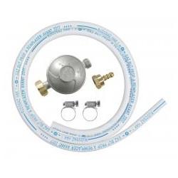 RIBITECH Kit gaz détendeur butane +tuyau 1m50 5 ans avec colliers