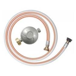 RIBITECH Kit gaz détendeur butane +tuyau 1m50 10 ans à visser
