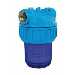 """RIBITECH Filtre à eau 5"""" anti UV 3pces avec cartouche lavable fil 1"""""""
