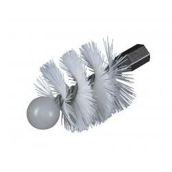 RIBITECH Brosse diam. 100 mm pour kit de nettoyage pour poêle