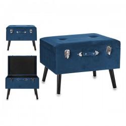 Grande valise Bleu Velours...