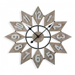 Horloge Murale Bois MDF (5...