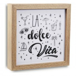Cadre Dolce Vita Bois MDF...
