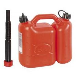 RIBITECH Jerrican essence double usage 5 L + 2,5L