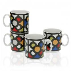 Lot de tasses Porcelaine (4...
