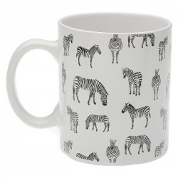 Tasse mug Zebra Porcelaine
