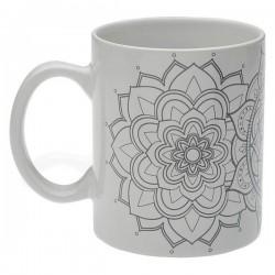 Tasse mug Mandalas Porcelaine