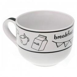 Tasse mug Breakfast Grès