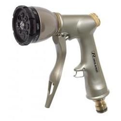 RIBILAND Pistolet multifonctions métal/laiton peint+raccord rapide