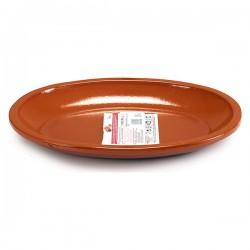Assiette plate (24,5 x 3 x...