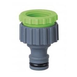 RIBILAND Nez de robinet fil.F  1/2 et 3/4 avec colerette et display box