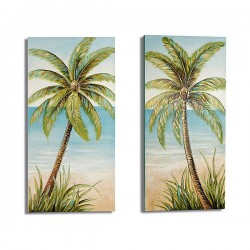 Toile Palm Tree Toile (3 x...