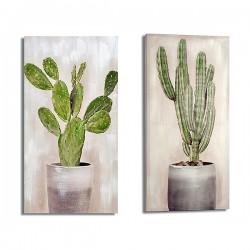 Toile Cactus (3 x 50 x 100 cm)