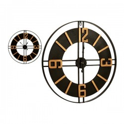 Horloge Murale Noir (60,5 x...
