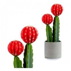 Cactus Plastique Rouge...