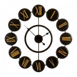 Horloge Murale Métal Métal...