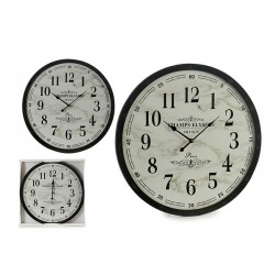 Horloge Murale Blanc Noir...