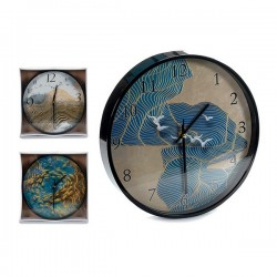 Horloge Murale Noir (30 x 4...