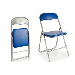 Chaise Pliante Bleu foncé...