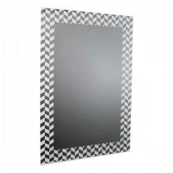 Miroir mural Blanc (60 X 90...