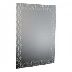 Miroir mural Noir (60 X 90...
