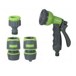 RIBILAND Kit pistolet multi fonctions + raccord et nez de robinet