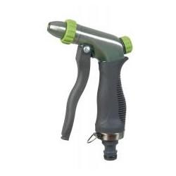 RIBILAND Pistolet arrosage/lavage trimatière métal brossé