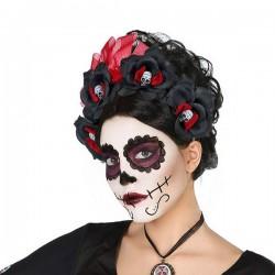 Serre-tête Crâne Mexicaine