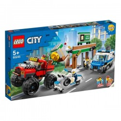 Playset City Police Monster...
