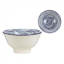 Bol Bleu Porcelaine Ø 16 cm