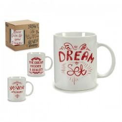 Tasse mug Rouge (7 x 9,5 x...