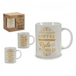 Tasse mug Or (7 x 9,5 x 11 cm)