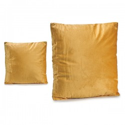Coussin Velours Ocre (45 x...