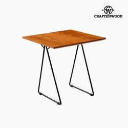 Table d'Appoint Noyer Mdf...