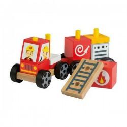 Camion de Pompiers 11 pcs...