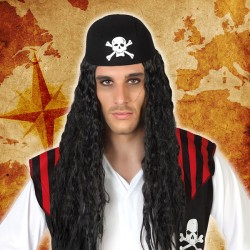 Perruques Pirate Cheveux...